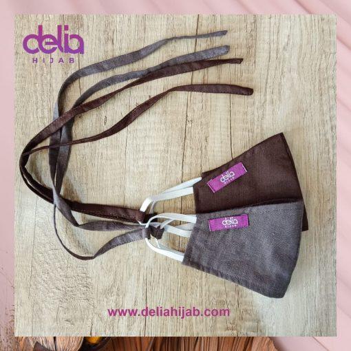 Masker Kain Polos - Masker Anak 01 - Delia Hijab