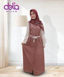 Baju Gamis Modern - Nabil Dress - Delia Hijab