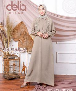 Baju Muslim Modern - Salsabila Dress - Delia Hijab