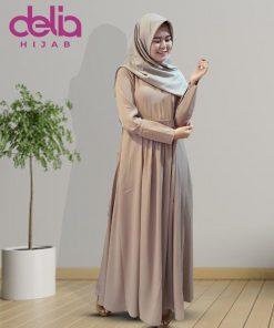 Baju Gamis Modern - Amelia Dress - Delia Hijab