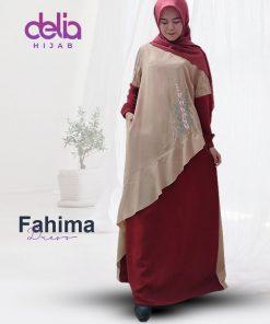 Gamis Pesta Mewah - Fahima Dress - Delia Hijab