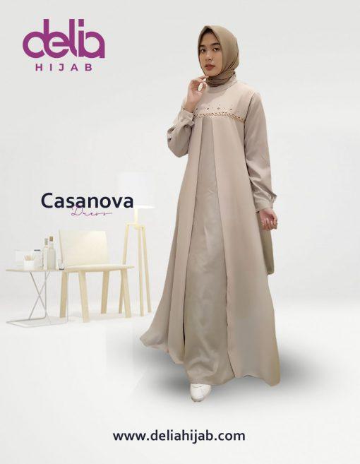 Baju Muslim Casual - Casanova Dress - Delia Hijab
