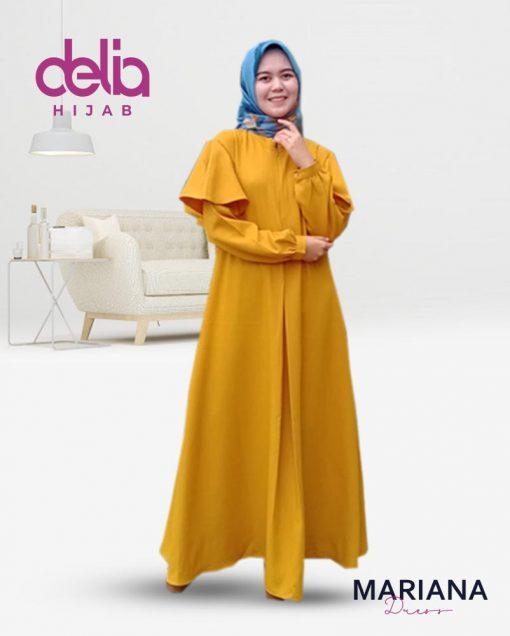 Gamis Syari Modis - Mariana Dress - Delia Hijab