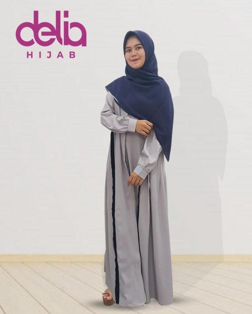 Baju Muslim Casual - Della Dress - Delia Hijab