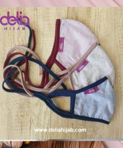 Masker Kain Polos - Masker Dewasa 02 - Delia Hijab