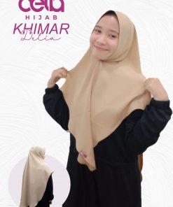 Kerudung Khimar Syari - Khimar 03 - Delia Hijab