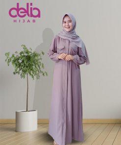 Baju Gamis Modern - Natalia Dress - Delia Hijab